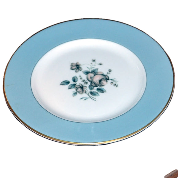 rose elegans side plates royal doulton