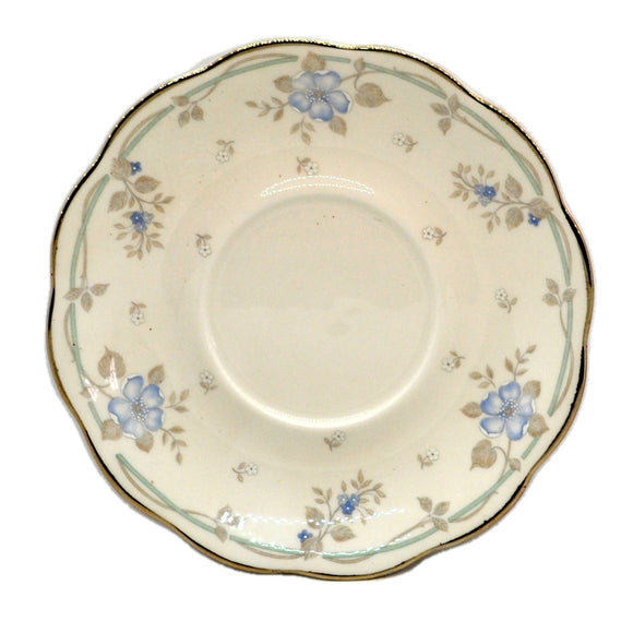 Royal Albert China Satin Rose Saucer Plate