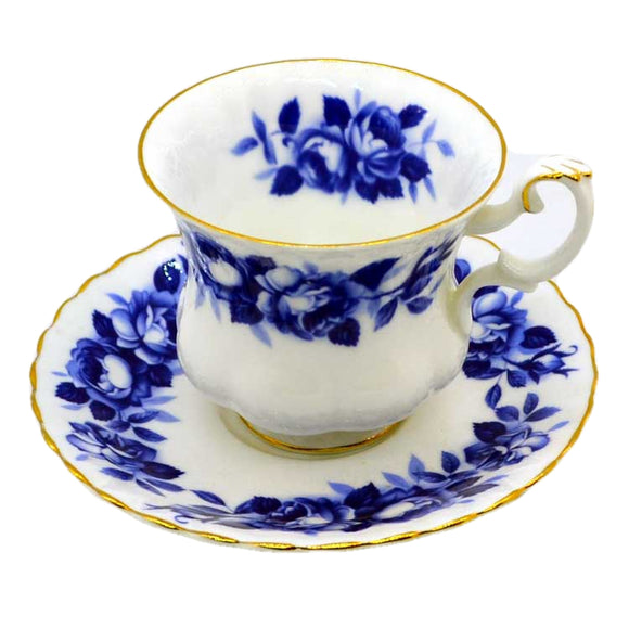 royal albert china aristocrat blue and white china