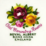 Royal Albert China Old Country Roses marks