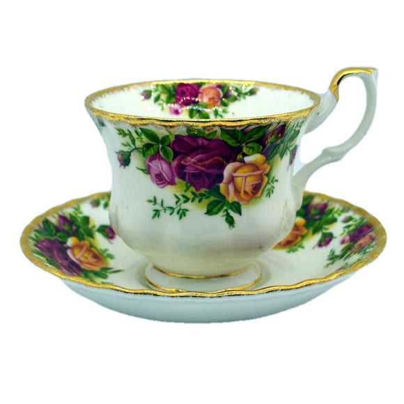 royal albert old country roses china montrose teacup