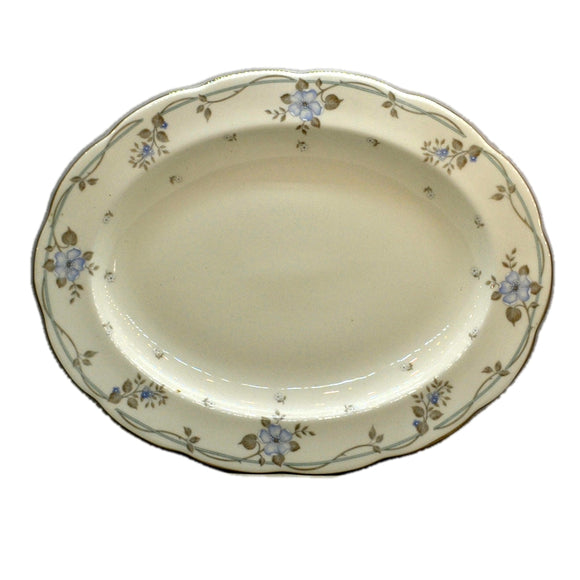 Royal Albert China Satin Rose Oval Serving Platter