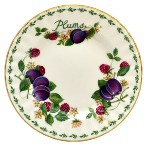 Royal Albert China Plums Side Plate