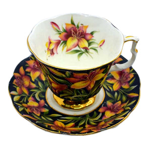 Royal Albert Provincial Flowers Prairie Lily tea cup