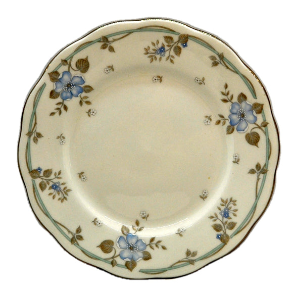 Royal Albert China Satin Rose Side Plate