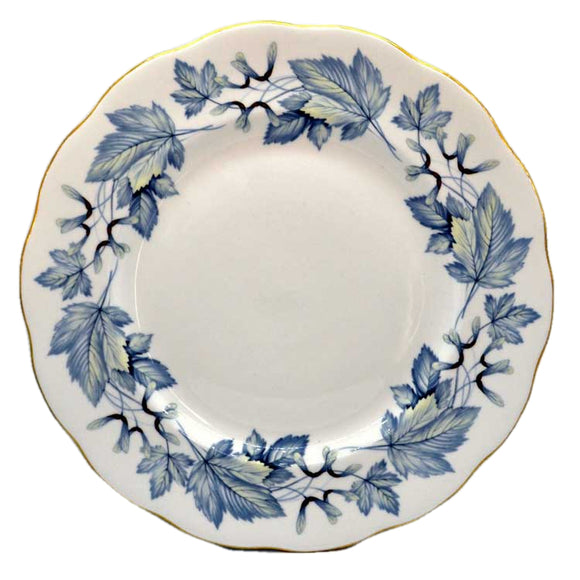 Royal Albert Silver Maple China dinner plate 10.25 inch