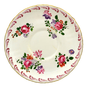 Vintage Royal Crown Derby Posies Saucer