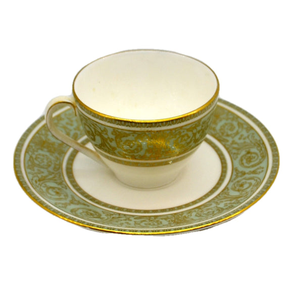 Royal Doulton China English Renaissance H 4972 Demitasse Cup and Saucer