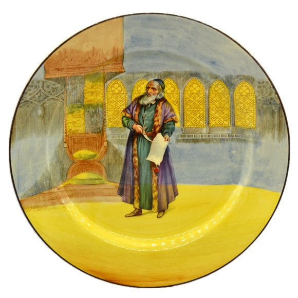 Royal Doulton Shylock D3596 China Plate 1929