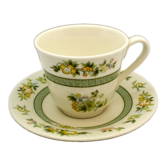 Royal Doulton China Tonkin TC1107 Teacup and Saucer