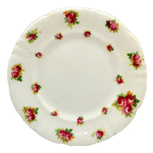Antique Royal Doulton Floral China Side Plates Queen Anne's Mansions Hotel