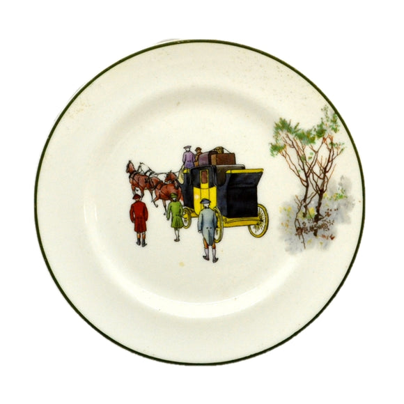 Royal Doulton Coaching Days E3804 side plate 1924