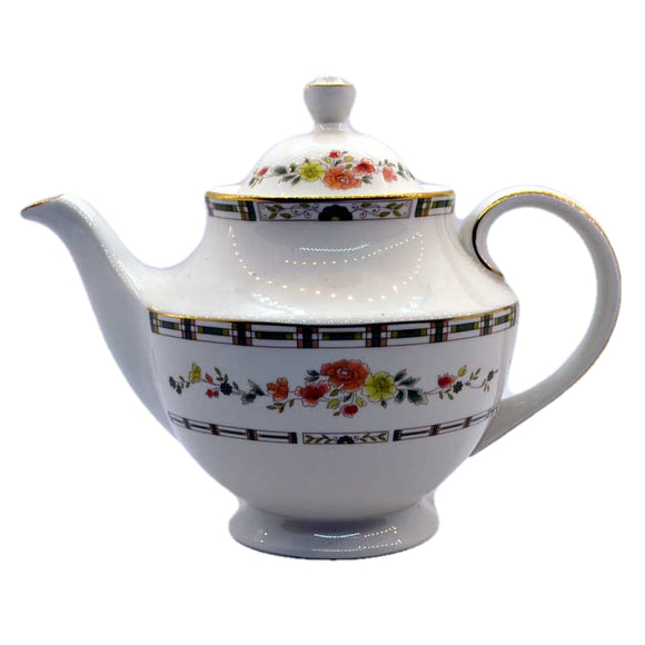 Royal Doulton China teapot Mosaic Garden TC1120