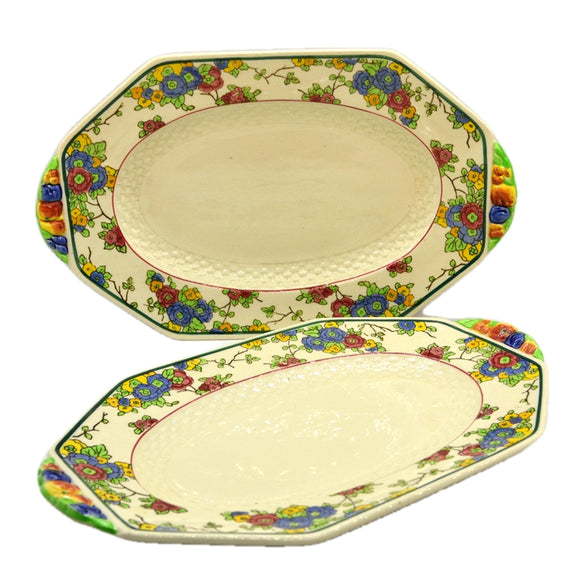 Royal Doulton China Cromer D4744 12.25-inch Platters