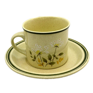 Royal Doulton China Will O The Wisp Lamethware Cup and Saucer