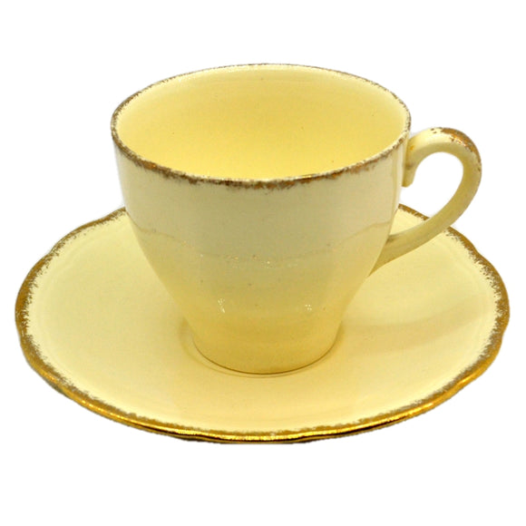 Alfred Meakin Royal Marigold China Teacup & Saucer
