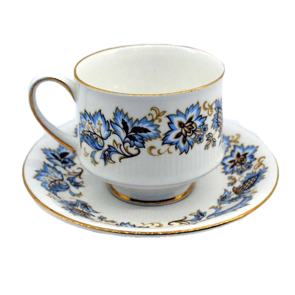 Royal Standard 1960's Floral china teacup and saucer