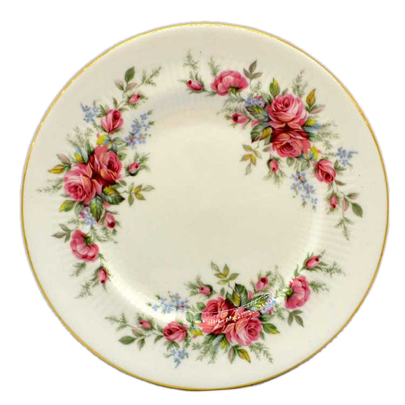 Royal Standard Rambling Rose Side Plates Floral China