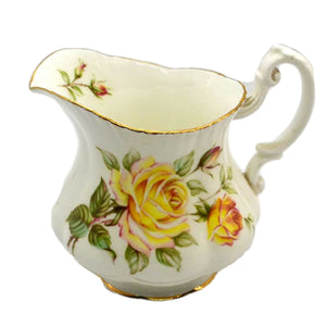Royal Standard floral china milk jug