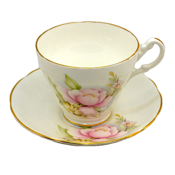 Royal Stuart Fine Bone China Teacup 1950s