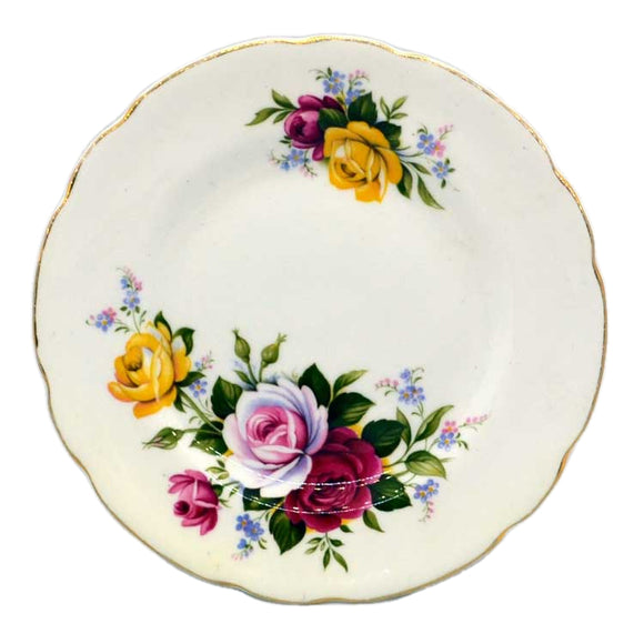 vintage royal sutherland bone china side plates