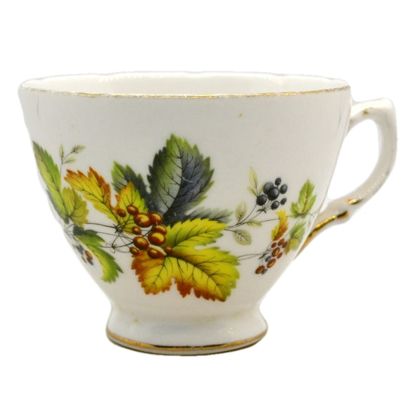 Royal Vale Ridgway China Floral Teacup pattern 8224