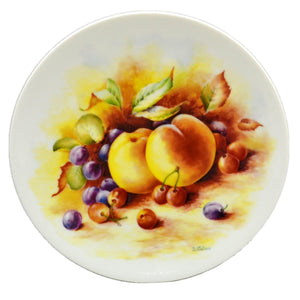 Royal Worcester China D Wallace Collectors Plate