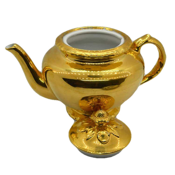 royal worcester gold lustre teapot 1.75 pint