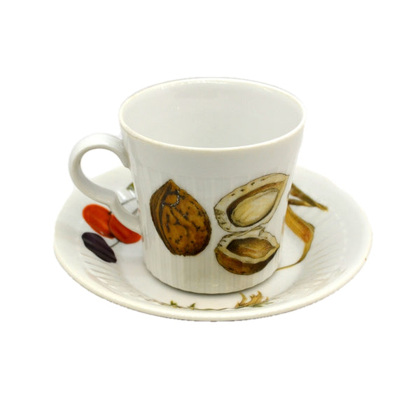 Royal Worcester China Wild Harvest Demmitasse Cup and Saucer