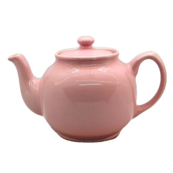 James Sadler Vintage Pink China Teapot