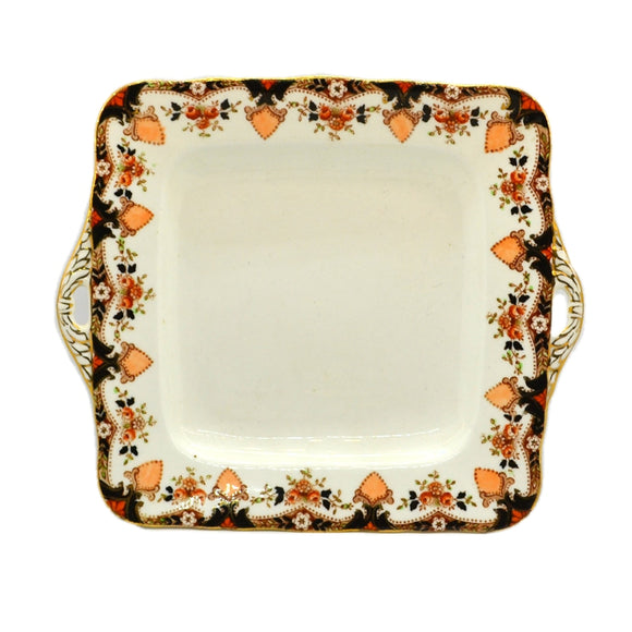 antique samual radford amanda china cake plate