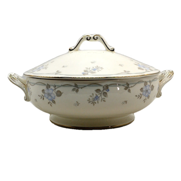 Royal Albert China Satin Rose Lidded Tureen