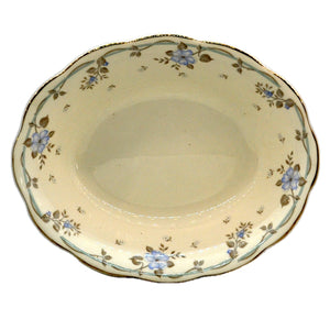 Royal Albert China Satin Rose Oval Serving Dish