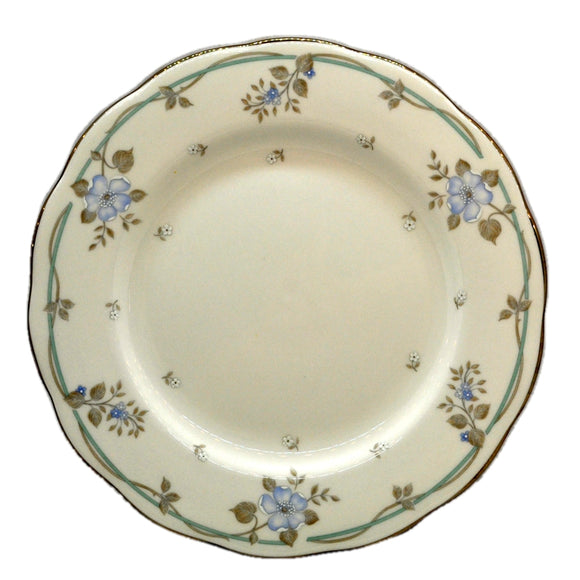 Royal Albert China Satin Rose Dessert Plate