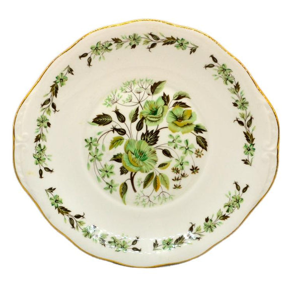 colclough sedgley cake plate china