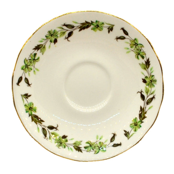 colclough sedgley 8648 china saucer