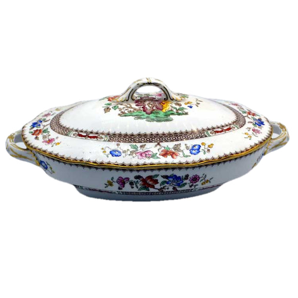 spode chinese rose tureen