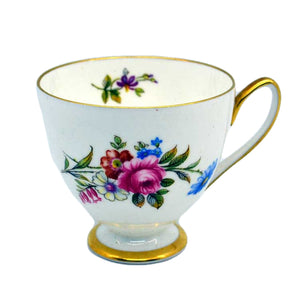 vintage Shelley bone china tea cup floral 14170 pattern