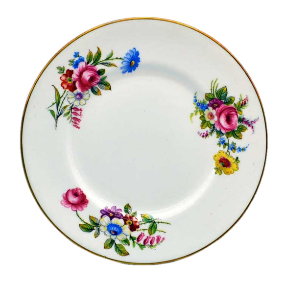 Shelley china side plates in floral design 14170