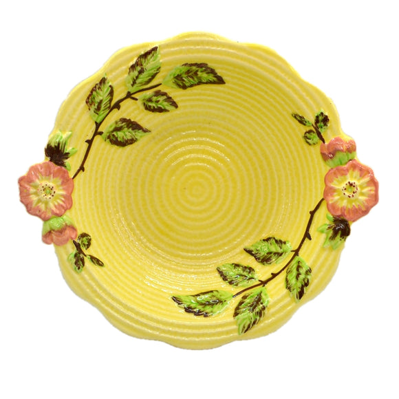 Shorter and Sons Yellow Bramble Rose Bowl