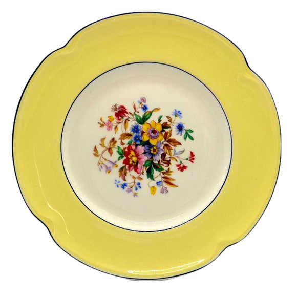 pareek china yellow johnson bros side plate