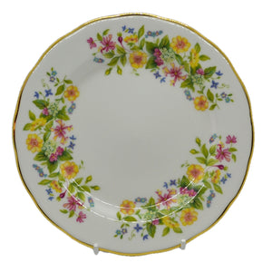 vintage china colclough hedgerow side plate
