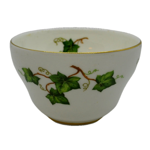 small ivy leaf sugar bowl