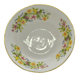 colclough hedgerow soup cereal dessert bowl