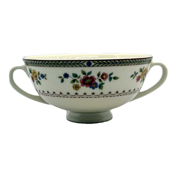 Royal Doulton China Mosaic Garden TC1120 soup bowl
