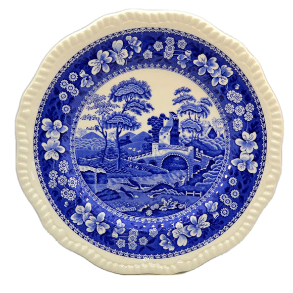Spode Blue Tower Blue and White China Dinner Plate