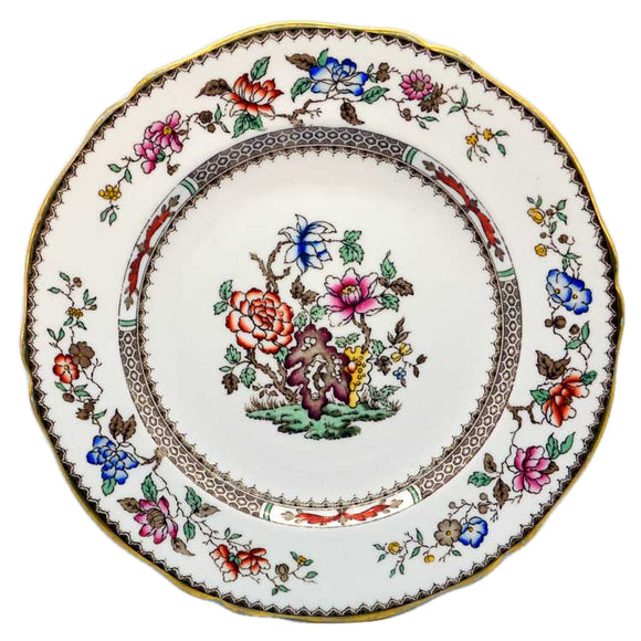 spode chinese rose dinner plate
