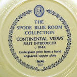 spode continental views factory stamp