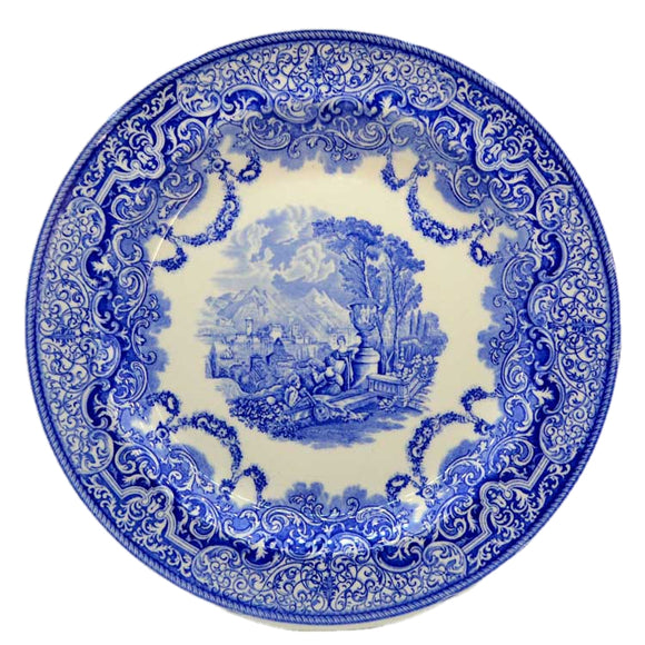 Spode blue room collectors blue and white plate