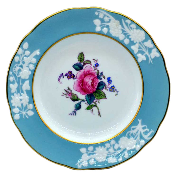 spode old colony rose side plate